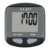 Велокомпьютер, спидометр ASSIZE AS - 827 проводной (11 режимов) (632)