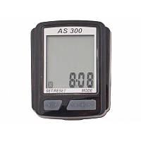 Велокомпьютер, спидометр ASSIZE AS 300 проводной (11 режимов) (AS300)