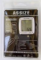 Велокомпьютер, спидометр ASSIZE AS-6000 беспроводной (AS6000)