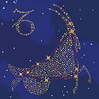 Картина по номерах Идейка Краска металик. Звёздный знак Козерог 50х50см КН9510 набір для розпису по номерах набір для розпису, фарби та пензлі