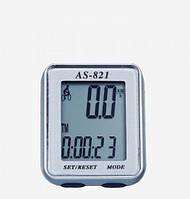 Велокомпьютер, спидометр ASSIZE AS - 821 проводной (11 режимов)620)