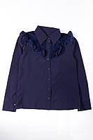 Блуза жіноча 120P380 junior (Темно-синій)