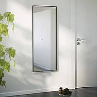 Ростовое зеркало в черном цвете, алюминий, фото 1