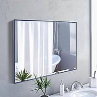 Зеркало в алюминиевой раме, синего цвета, фото 1
