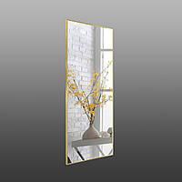 Зеркало в рост золото - хром, фото 1