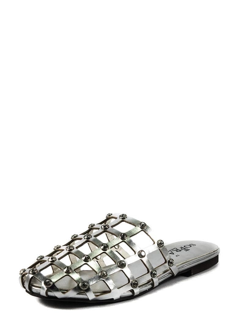 Шлепанцы женские Sopra СФ YY-2 серебрянные (36)