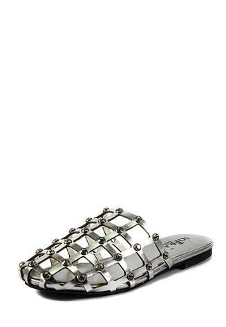Шлепанцы женские Sopra СФ YY-2 серебрянные (36), фото 2