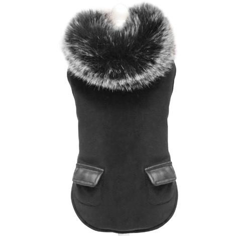 Куртка для собак DARK KNIGHT утепленная, черная, 25 см, Croci