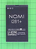 Аккумулятор Nomi i281+ 1400mAh Оригинал