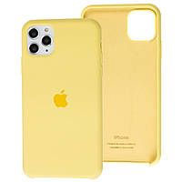 Чехол Silicone Case full для iPhone 11 Pro Yellow