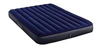 Надувной матрас двухместный Intex 64759 синий 203х152х25 см