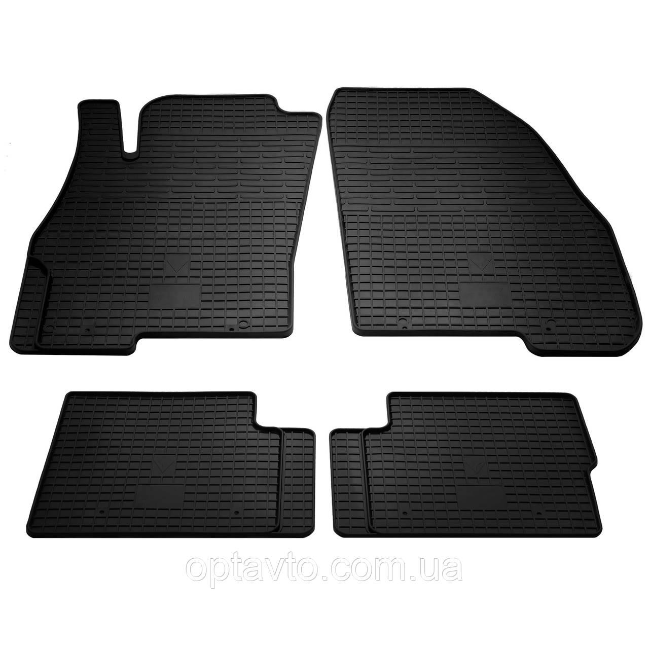 FIAT Punto  - комплект качественных резиновых ковриков. Комплект 4 шт.  (2005-2018)