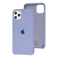 Чехол Silicone Case full для iPhone 11 Pro Lavander