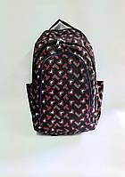 Рюкзак на три відділення розмір 30х45*20 різні кольори, фото 1