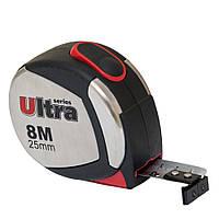 Рулетка магнитная 8м*25мм ULTRA 3822082, фото 1