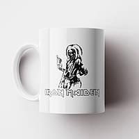 Чашка Iron Maiden. Музыка. Metal. Метал. Чашка с фото, фото 1