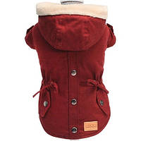 Куртка для собак PARKA BORDEAUX утепленный, 25 см, Croci