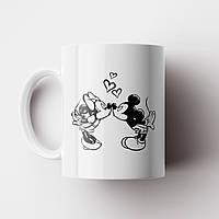 Чашка подарок любимому/любимой. Чашка Микки Маус. Чашка с фото, фото 1