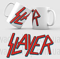 Чашка Slayer. Музыка. Metal. Метал. Чашка с фото, фото 1