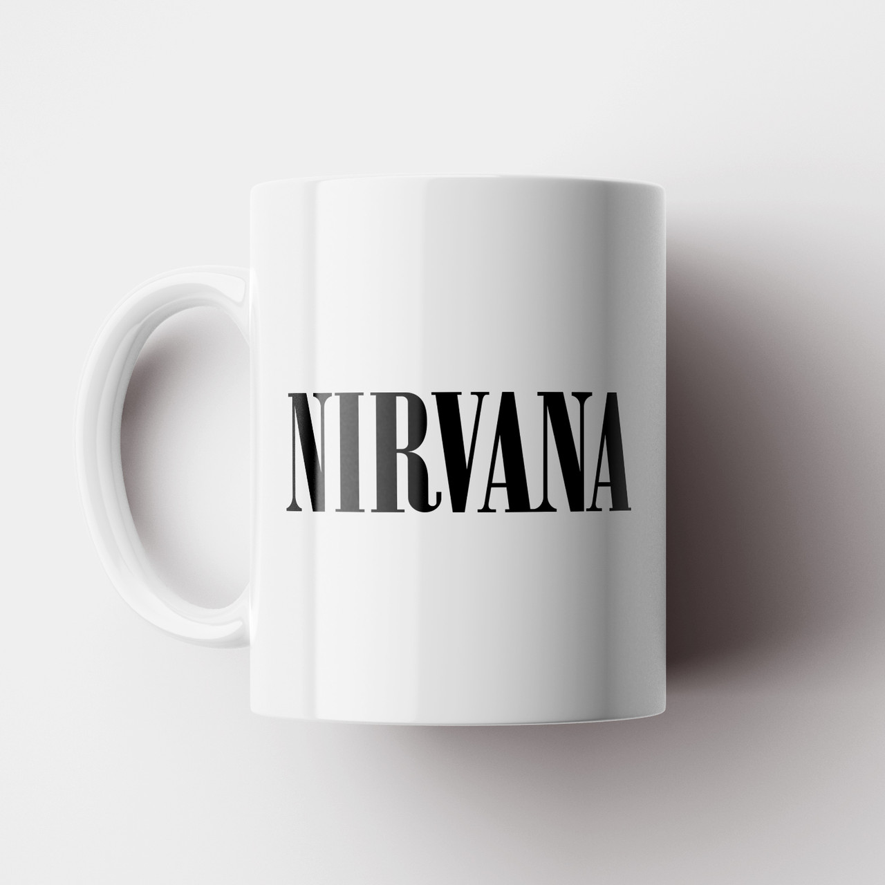 Чашка Nirvana. Рок Музыка. Rock. Чашка с фото Нирвана