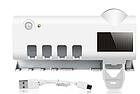 Диспенсер для зубной пасты и щеток автоматический Toothbrush sterilizer (W-020), УФ-стерилизатор, фото 2