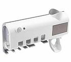 Диспенсер для зубной пасты и щеток автоматический Toothbrush sterilizer (W-020), УФ-стерилизатор, фото 3