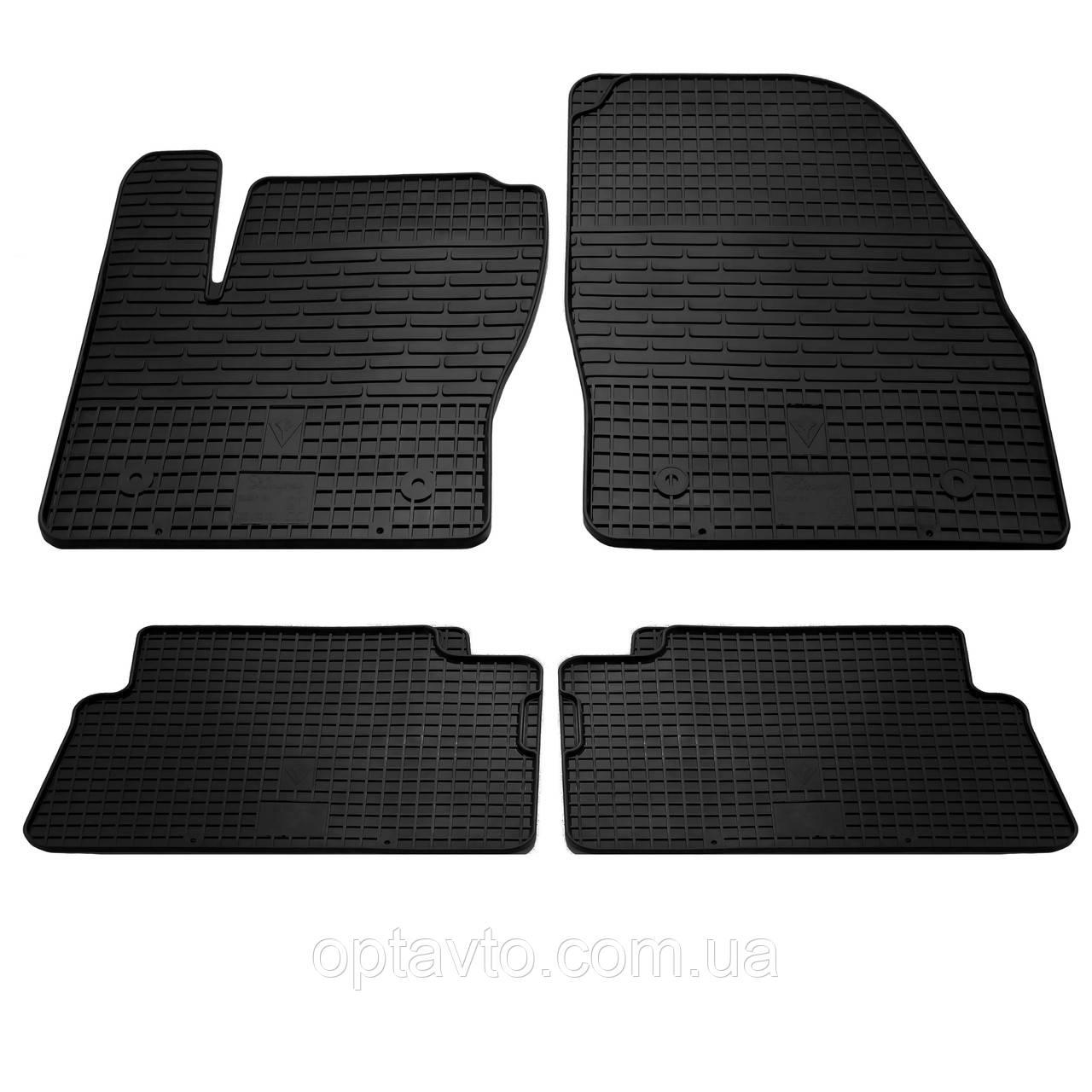FORD Kuga - комплект качественных резиновых ковриков. Комплект 4 шт.   (2009-2012)
