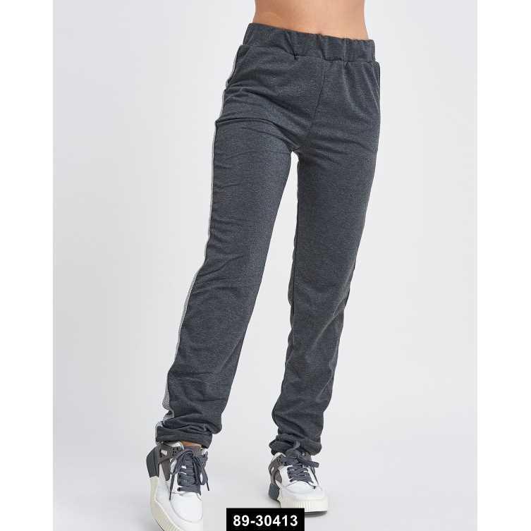 Женские спортивные штаны, L-XXL международный размер, 89-30413