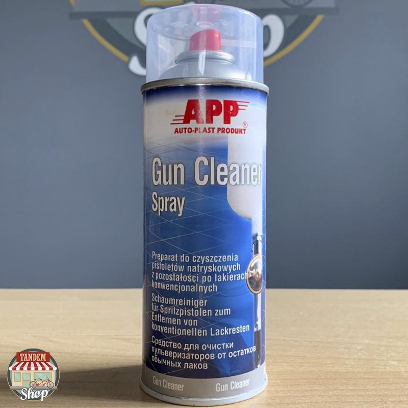 Средство для очистки краскопультов APP Gun Cleaner, 400 мл Аэрозоль