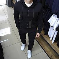 Мужской Спортивный Костюм Calvin Klein чёрный с капюшоном