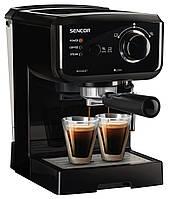 Рожковая кофеварка эспрессо Sencor SES 1710BK