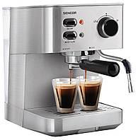 Рожковая кофеварка эспрессо Sencor SES 4010SS