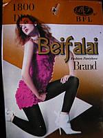 Лосины женские BFL Beifalai на байке. Цвет - черный., фото 1