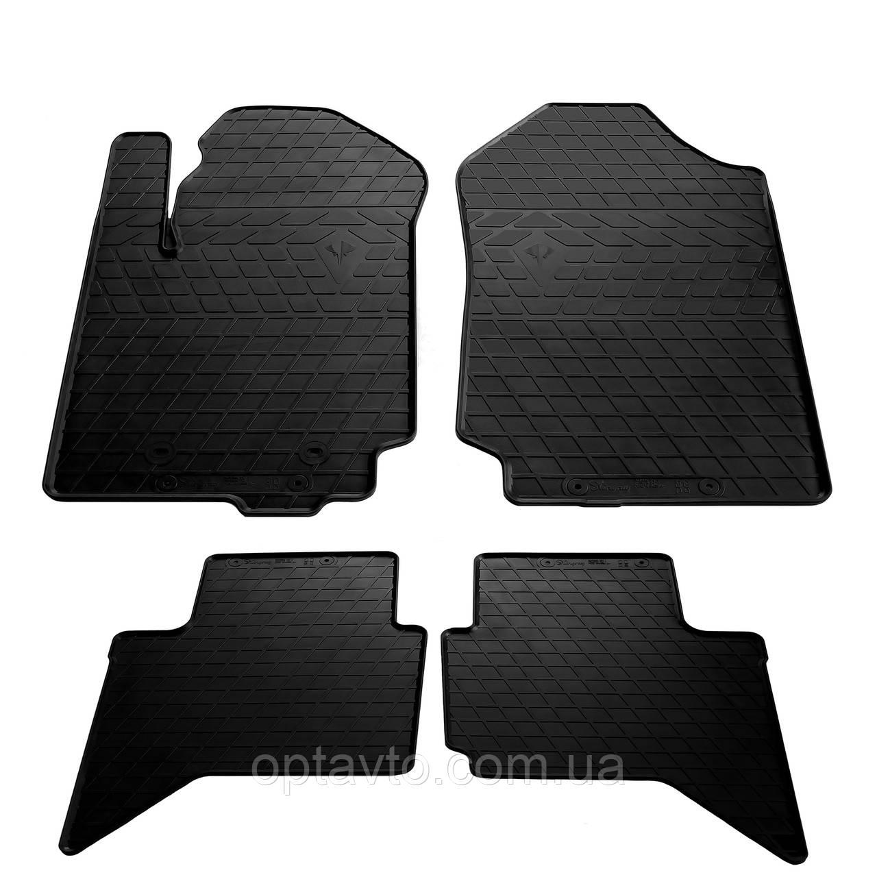 FORD Ranger - комплект качественных резиновых ковриков. Комплект 4 шт. (2011-...)