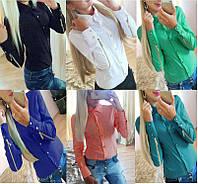 Женская стильная блузка - 7 цветов!