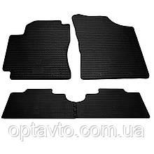 GEELY CK/CK-2    - комплект качественных резиновых ковриков. Комплект 4 шт. (2005-2009)/(2008-2016)
