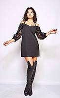 Жіноче плаття з костюмної тканини Poliit 8780