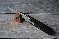 Выкидной нож Буйвол 2, бокового выброса, элитный подарок другу