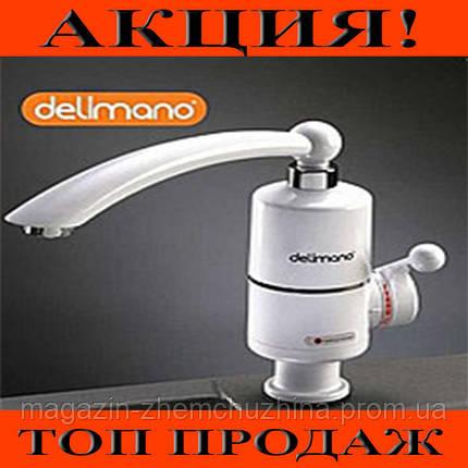 Проточный водонагреватель Deimanо электрический на кран смеситель!Хит цена, фото 2