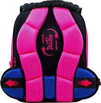 Ранец школьный ортопедический для девочки с пеналом и сумкой для обуви DeLune 9-124, фото 3