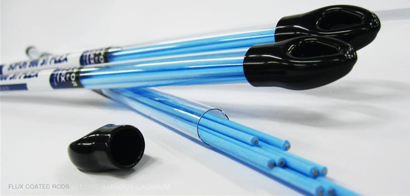 Припой серебряный Ag 25% Sopormetal Sopor 500 SN Flex (голубой)