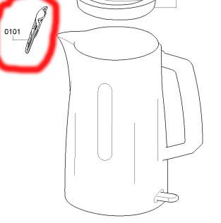 Фильтр чайника Bosch TWK3A013/01 черный  00626753