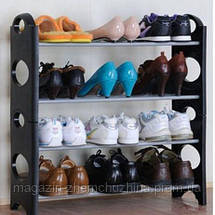 Органайзер для обуви Stackable Shoe Rack 4 полки!Хит цена, фото 3