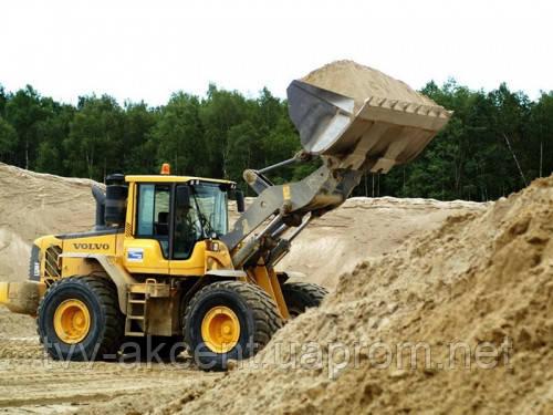 Песок овражный с доставкой по Киеву и области