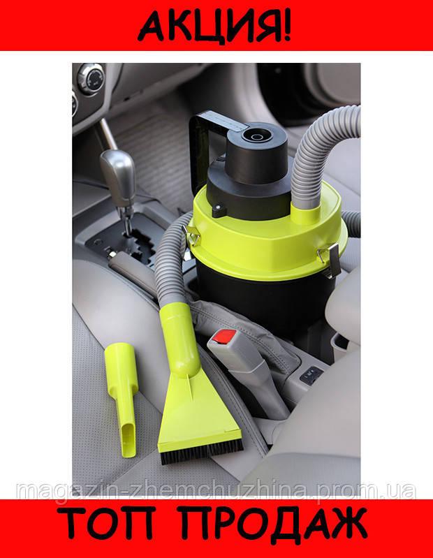 Автомобильный пылесос для сухой и влажной уборки The Black multifunction wet and dry vacuum!Хит цена