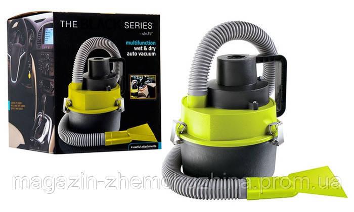 Автомобильный пылесос для сухой и влажной уборки The Black multifunction wet and dry vacuum!Хит цена, фото 2