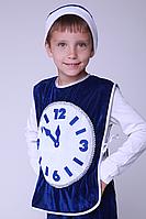 Детский карнавальный костюм для мальчика Часы (велюр), фото 1