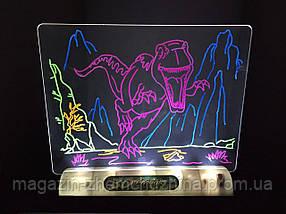 3D доска для рисования MAGIC DRAWING BOARD 3D (мэджик борд)!Хит цена, фото 3