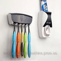 Автоматический диспенсер для зубной пасты и щеток!Хит цена, фото 2