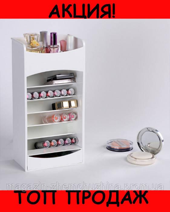 Органайзер для Хранения Косметики Cosmake Lipstick & Nail Polish Organizer!Хит цена